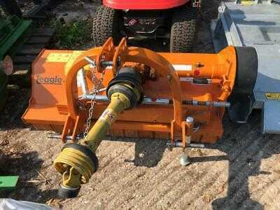 2018 Teagle P125 Flail Mower, great condition 20-50HP, rear mounting grass field