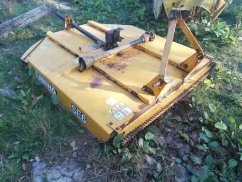 Mcconnel rhino 6 Topper mower Agriculture farming Smallholder