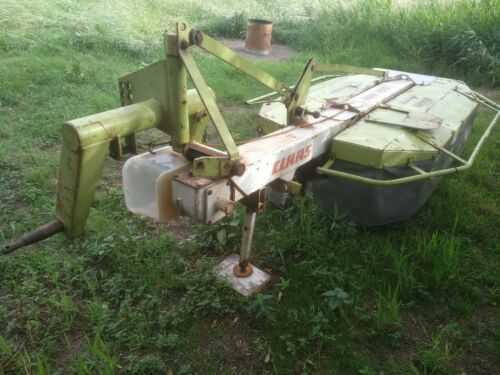 Claas mower WM165 Drum Mower.