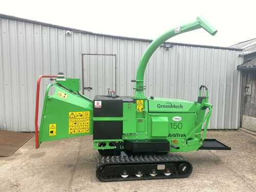WOODCHIPPER GREENMECH ARBTRAK 150 TRACKED , RIDE ON, YEAR 2014, ONLY 659 HOURS