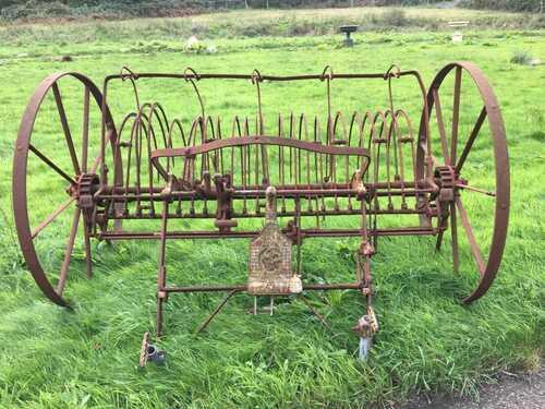 BAMFORD Antique Vintage Hay Rake / Harrow