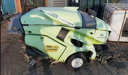 GREEN MACHINE SWEEPER 414 RS A Kubota Engine Walk Behind