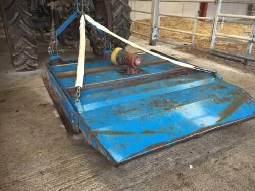 6ft Tractor grass topper mower, grass cutter