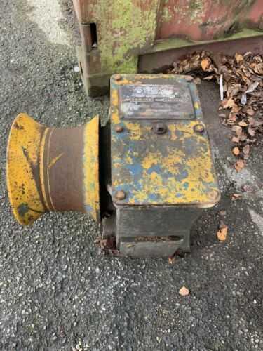 Cooke CPW 119 Winch, forestry tractor winch, Mooring Winch, Farm Winch