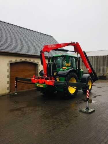 Tractor Mounted Hiab Crane Fassi John Deere