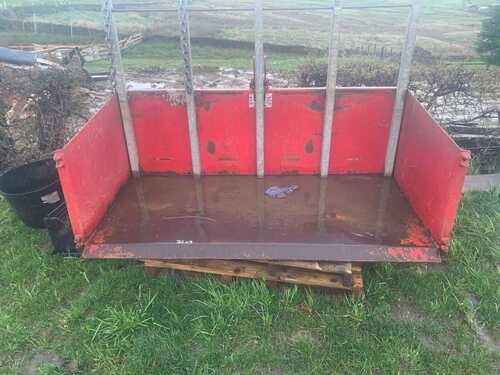 Foster Tractor Transport Box Agricultural Equestrian Small Compact