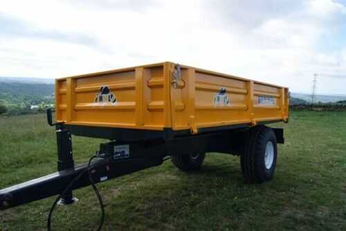 New | Hummel 2 Ton Drop Side Tipping Trailer