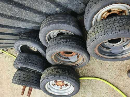 VEHICLE TYRES and RIMS - PRICE EACH