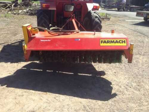 Tractor Mounted 6 Wide Road/Yard Brush - Farmach