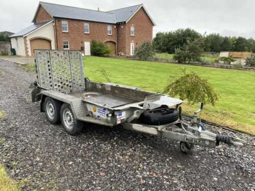 2018 Ifor Williams GH94 Twin Axle Plant Trailer Mini Digger - Dumper - Roller
