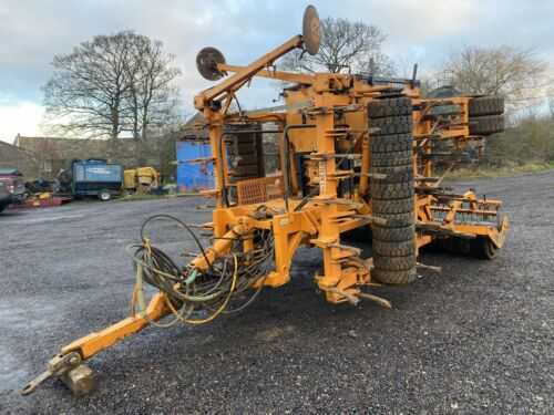Simba Free Flow 4M Trailed Drill Corn/ Seed Drill For Tractor PLUS VAT