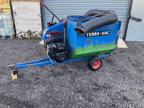 terravac  poo picker paddock hoover horse Terra Vac Colt Spares Or Repair