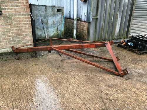 Jib for back of tractor