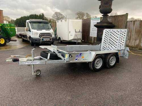 Ifor Williams GH94BT Plant trailer **NEW**