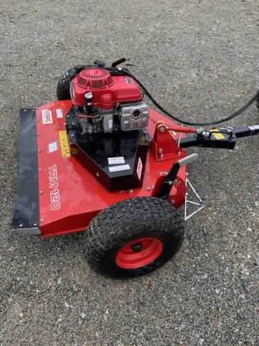 Logic TRM120 Atv Quad Flail Mower Topper Horses Paddock Stables Grass Shooting