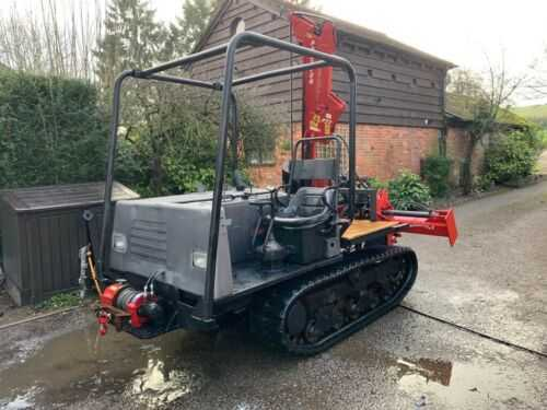 Kubota post driver with pro tech P22 plus