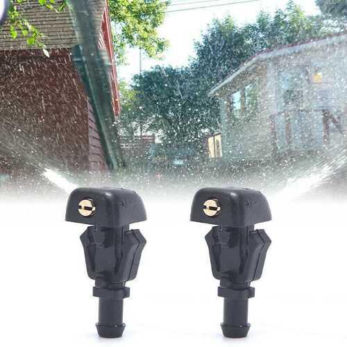 Front Windshield Washer Nozzles 3W7Z-17603-AA Sprayer Car AccessoriesLS