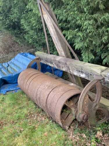 agricultural field flat ring roller 7ft Wide 750 ONO