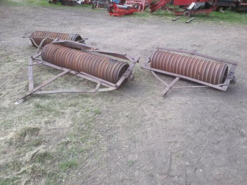 Set of 3 cambridge gang rollers,cultivation, quad bike, equestrian, pony paddock