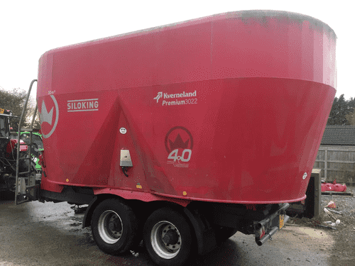 2017 Kverneland Siloking 30m Diet Feeder