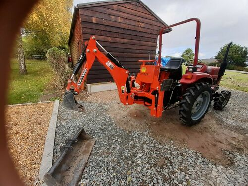 SIROMER COMPACT TRACTOR BACK ACTOR NEW 2017 C/W 2 BUCKETS